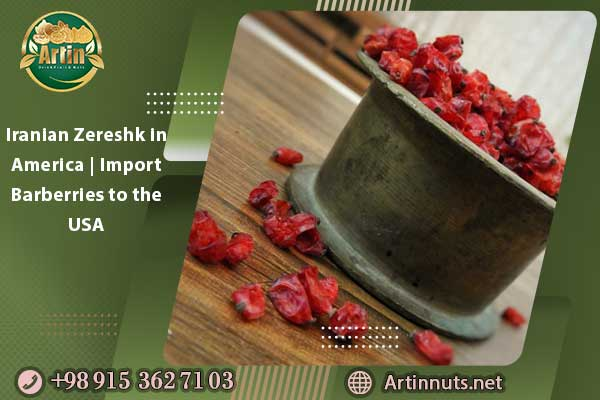 Iranian Zereshk in America | Import Barberries to the USA