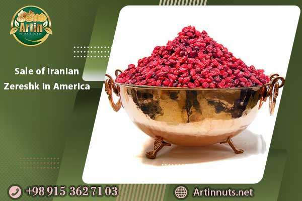 Sale of Iranian Zereshk in America