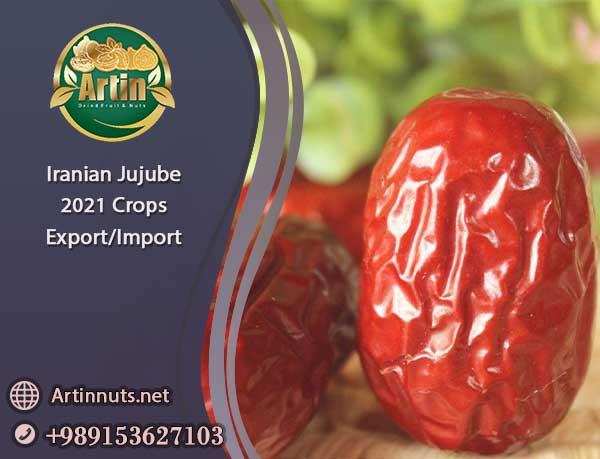 Iranian Jujube 2021 Crops