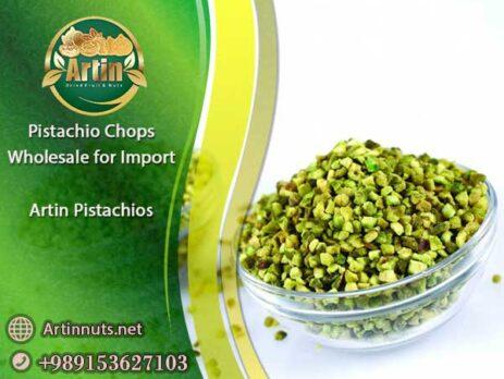 Pistachio Chops Wholesale