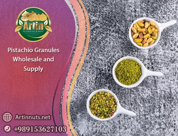 Pistachio Granules Wholesale
