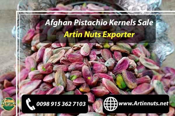Afghan Pistachio Kernels Sale
