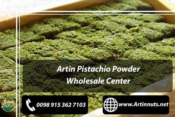 Pistachio Powder Wholesale Center