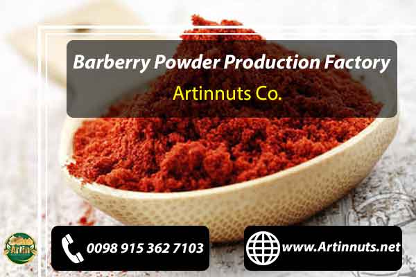 Barberry Powder Production Factory