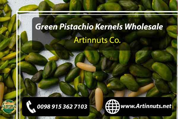 Green Pistachio Kernels Wholesale