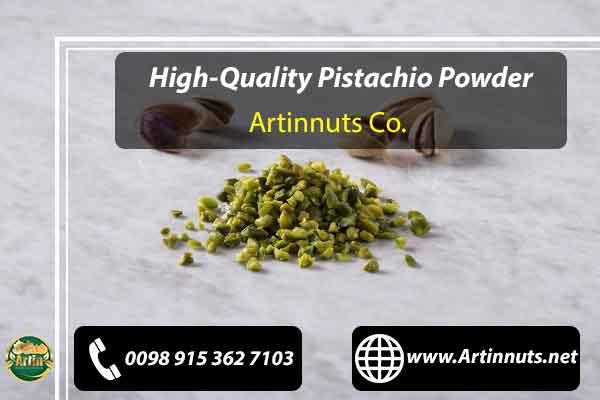 High-Quality Pistachio Powder