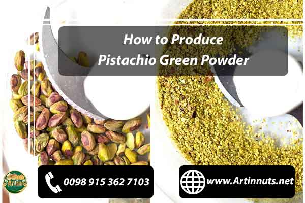 Pistachio Green Powder