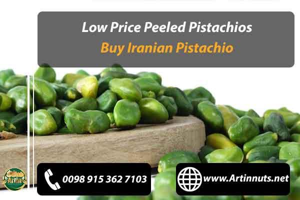 Low Price Peeled Pistachios