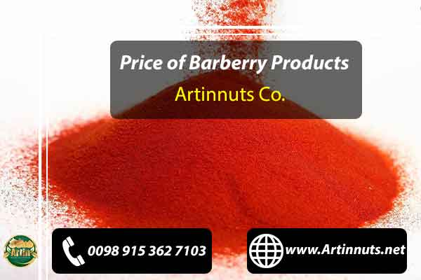 Price of Barberry Products