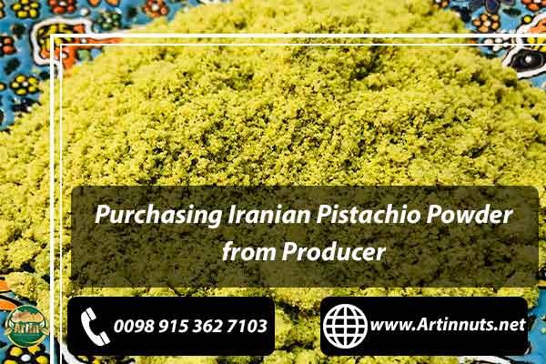 Iranian Pistachio Powder Producer
