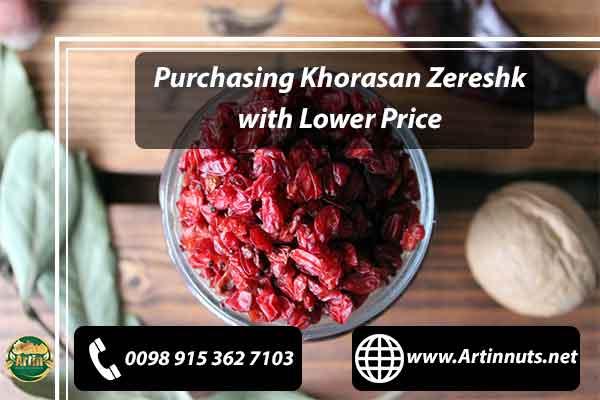 Purchasing Khorasan Zereshk