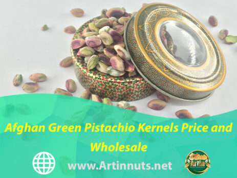 Afghan Green Pistachio Kernels Price and Wholesale