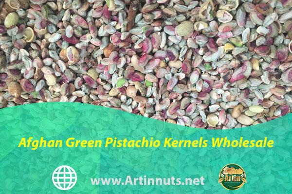 Afghan Green Pistachio Kernels Wholesale