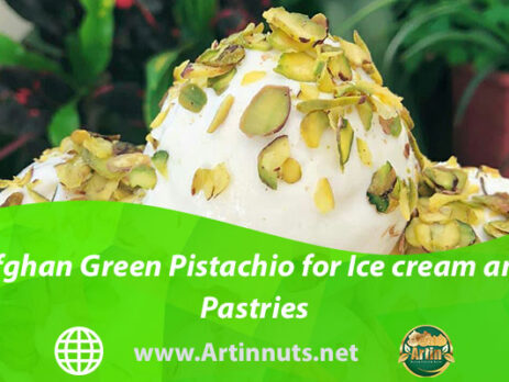 Afghan Green Pistachio for Ice cream and Pastries