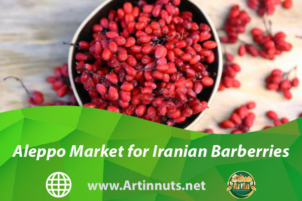 Aleppo Market for Iranian Barberries