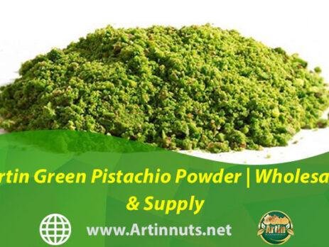 Artin Green Pistachio Powder | Wholesale & Supply