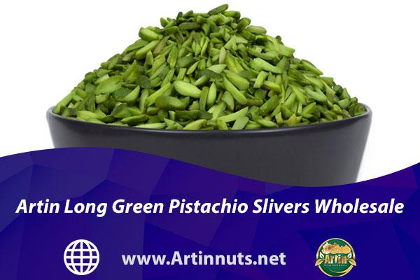 Artin Long Green Pistachio Slivers Wholesale