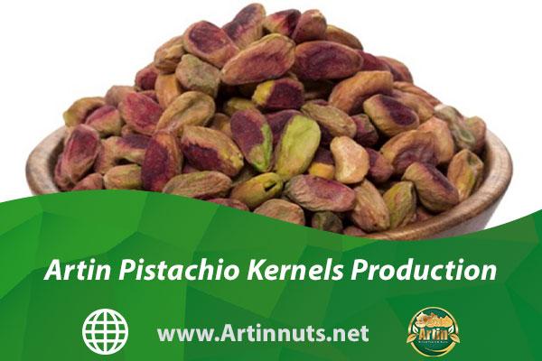 Artin Pistachio Kernels Production