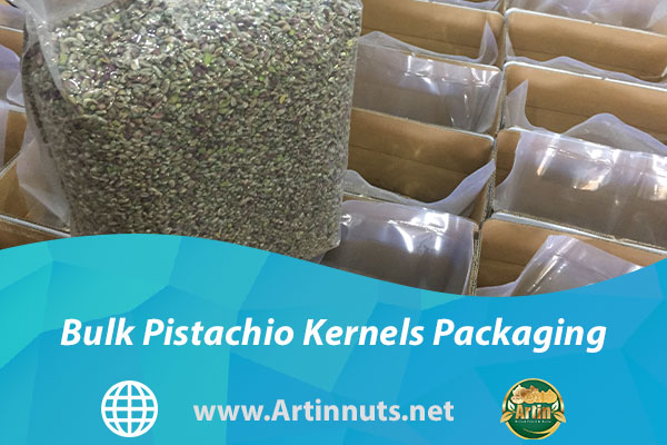 Bulk Pistachio Kernels Packaging
