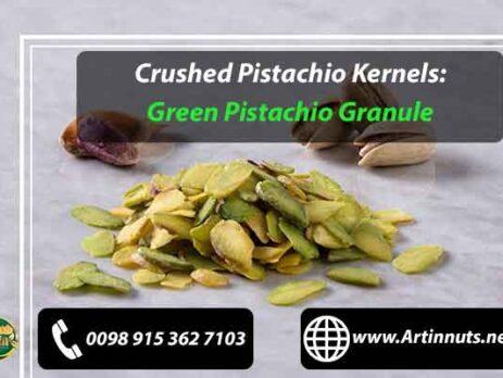 Crushed Pistachio Kernels