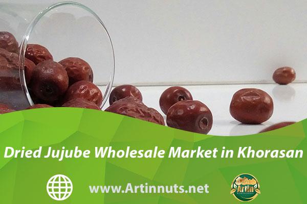 Dried Jujube Wholesale Market in Khorasan