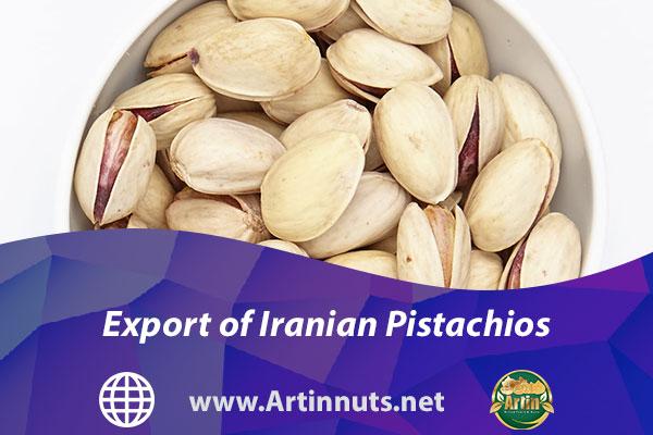 Export of Iranian Pistachios