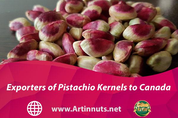 Exporters of Pistachio Kernels to Canada