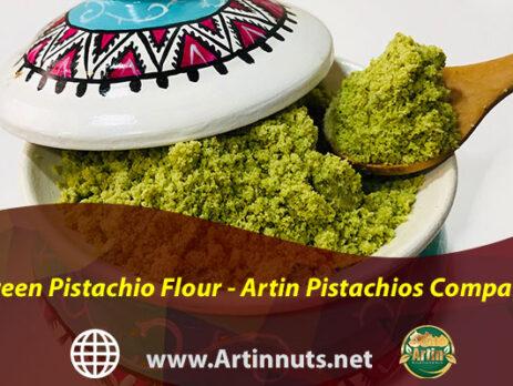 Green Pistachio Flour - Artin Pistachios Company