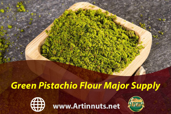 Green Pistachio Flour Major Supply