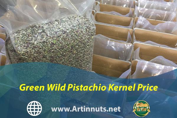 Green Wild Pistachio Kernel Price