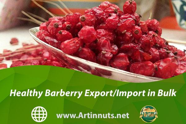 Healthy Barberry Export/Import in Bulk