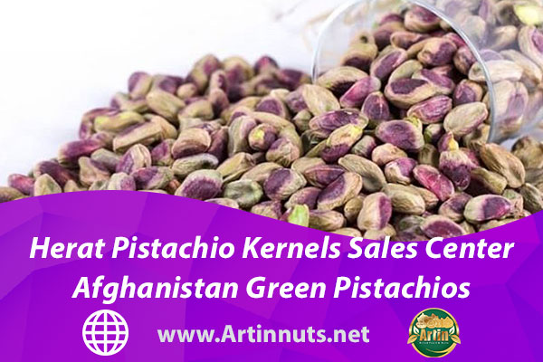 Herat Pistachio Kernels Sales Center | Afghanistan Green Pistachios