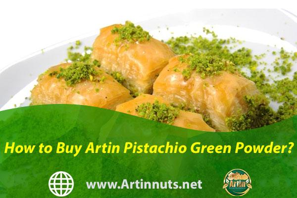 How to Buy Artin Pistachio Green Powder?