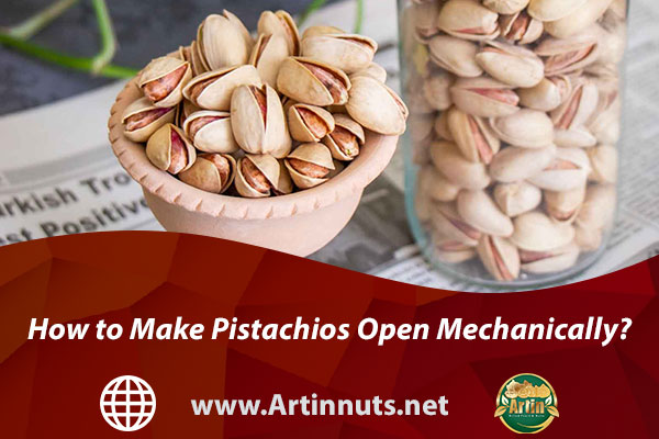 How to Make Pistachios Open Mechanically?