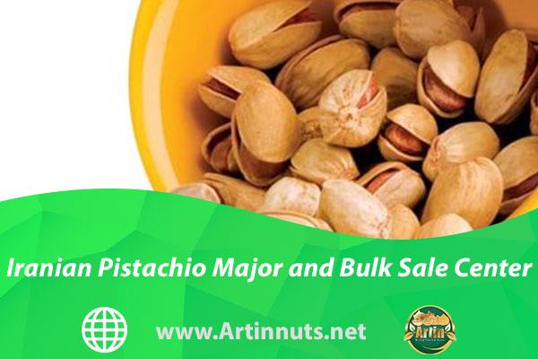 Iranian Pistachio Major and Bulk Sale Center