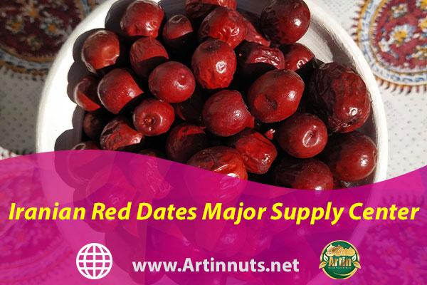 Iranian Red Dates Major Supply Center