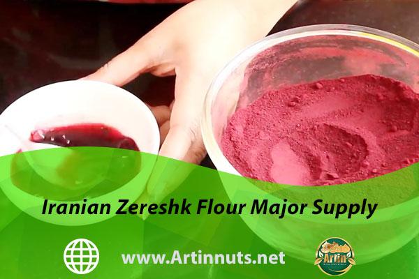 Iranian Zereshk Flour Major Supply
