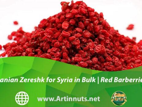 Iranian Zereshk for Syria in Bulk | Red Barberries
