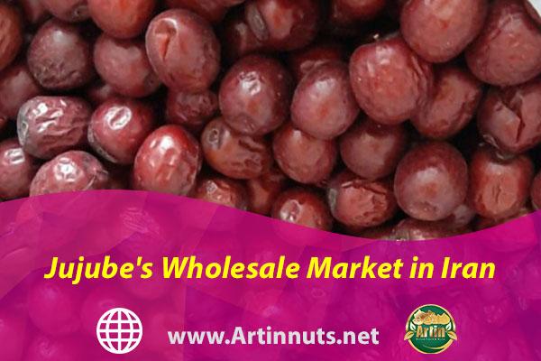 Jujube's Wholesale Market in Iran
