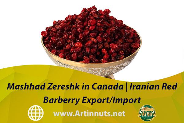 Mashhad Zereshk in Canada   Iranian Red Barberry Export/Import