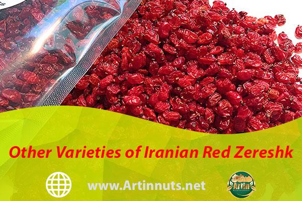 Other Varieties of Iranian Red Zereshk
