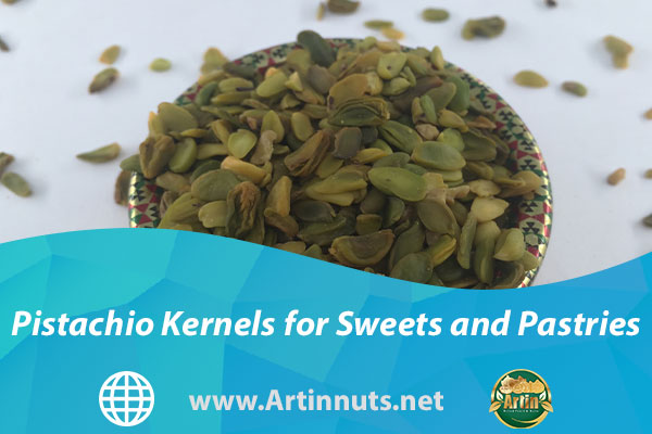 Pistachio Kernels for Sweets and Pastries