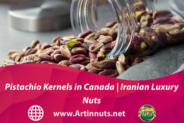 Pistachio Kernels in Canada | Iranian Luxury Nuts
