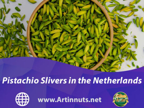 Pistachio Slivers in the Netherlands | Artin Pistachios Products