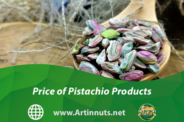Price of Pistachio Products