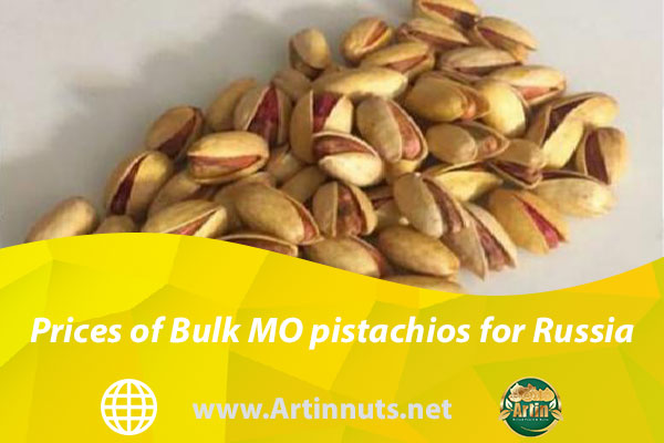 Prices of Bulk MO pistachios for Russia