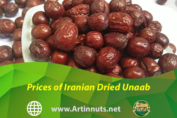 Prices of Iranian Dried Unaab