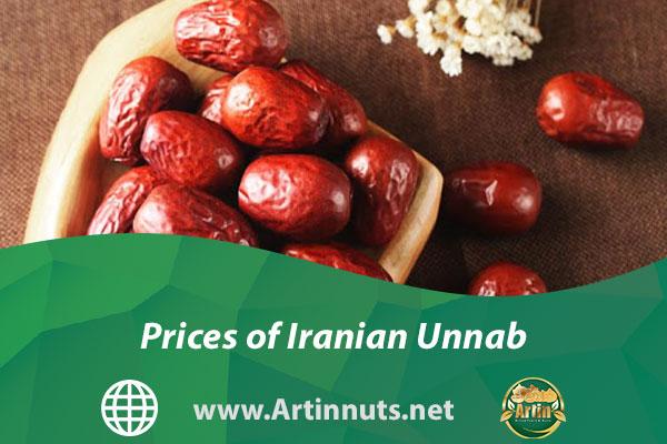 Prices of Iranian Unnab