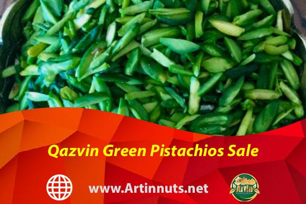 Qazvin Green Pistachios Sale
