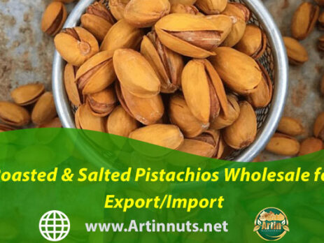 Roasted & Salted Pistachios Wholesale for Export/Import